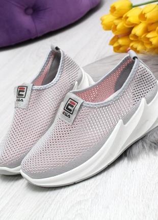 Хит продаж!красивые стильные текстильные кроссовочки! разные цвета!