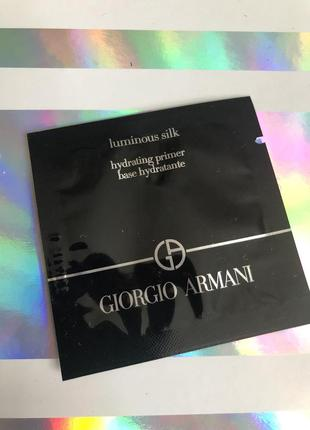 Праймер база под макияж armani luminous silk hydrating primer