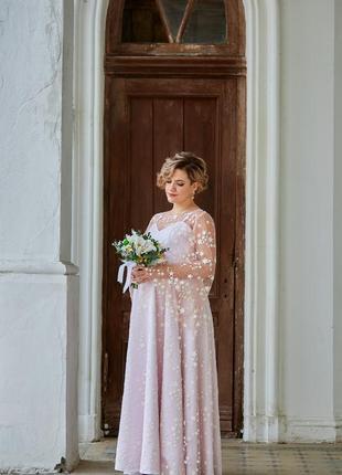 Очень красивое свадебное платье! свадебное платье для беременной!