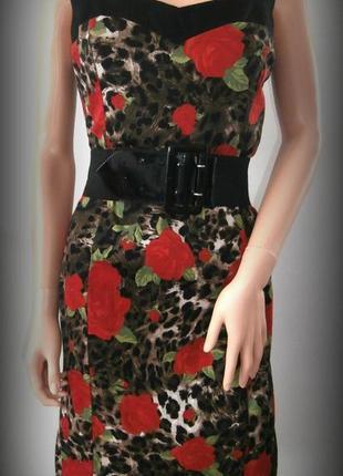 Яркое платье футляр