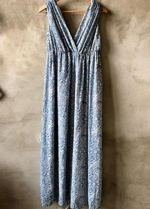 Очень красивое платье в пол h&m + подарок за покупку