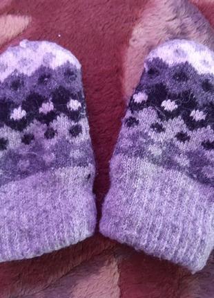 Зимние рукавички, теплые, мягкие, удобные