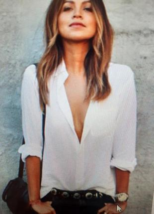 Идеальная белая рубашка в точку tommy hilfiger