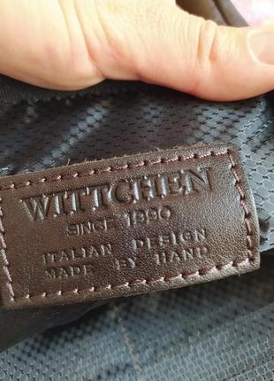 Кожаная сумка wittchen мужская