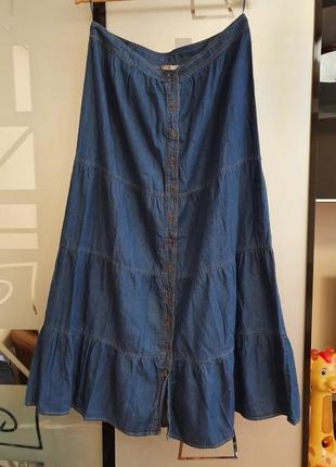 Лёгкая джинсовая юбка tu р.14
