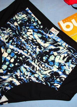 Низ от купальника раздельного женские плавки размер 52 / 18 черные синие высокие ретро