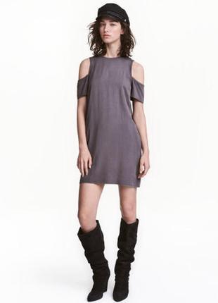 Короткое платье. xs. h&m. новое оригинал