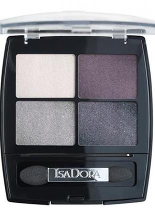 Isadora eye shadow quartet (37 crystal mauve) 4-цв тени