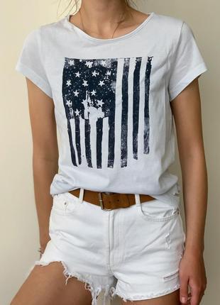 Крутая летняя футболка от tom tailor !