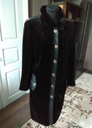 Пальто шуба норковая 42-44рр. в идеальном состоянии