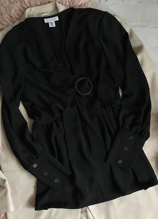 Чёрная блуза/туника(l)