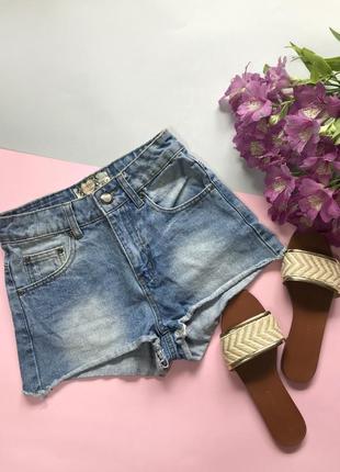 Шорты джинсовые boohoo летние