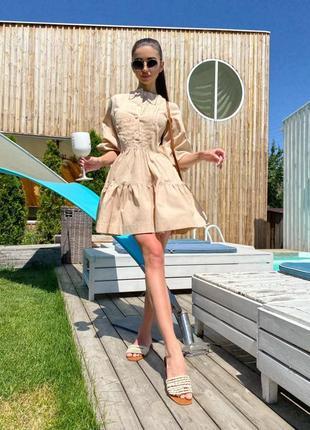 Легкое платье свободного кроя