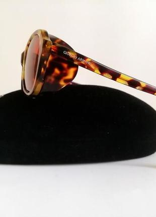 Солнцезащитные очки с шорами giorgio armani оригинал. лимитированная коллекция