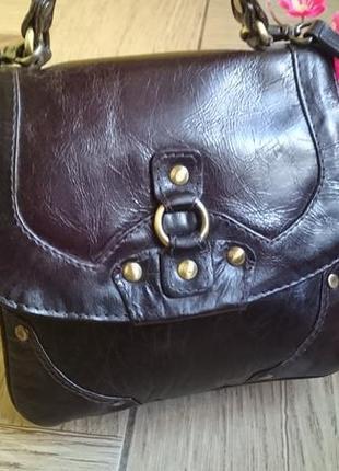 Женская кожаная сумка , кроссбоди , натуральная кожа