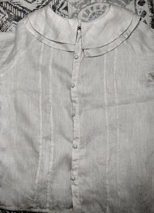 Трендовая рубашка с объемными рукавами6 фото