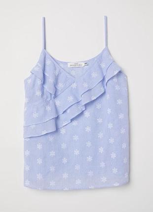 Блуза, майка, топ из прошвы