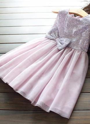 Шикарное качественное платье в паетки!