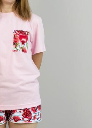 Трикотажная хлопковая пижама
