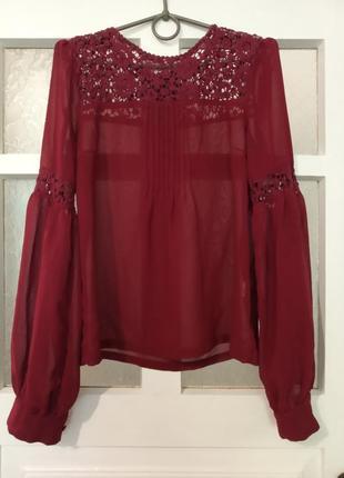Шифонова блузка / шифоновая блуза