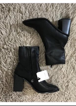 Ботинки женские чёрные