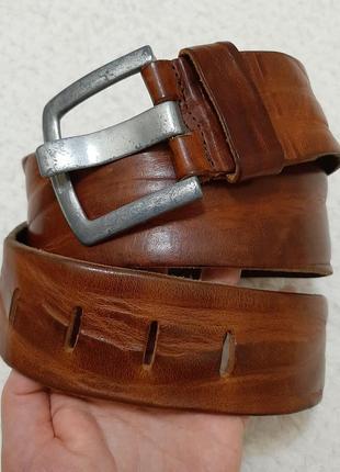 Голландия крутой кожаный широкий (5,3 см) ремень, пояс belt division