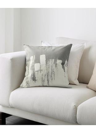 Чехол на декоративную подушку slojgran ikea / cлойгран икеа 50х50см !