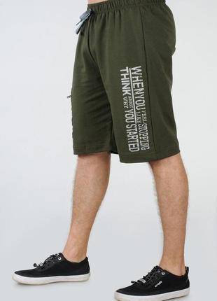 Мужские удлиненные трикотажные шорты tailer размеров 58-62 баталы (2052б)