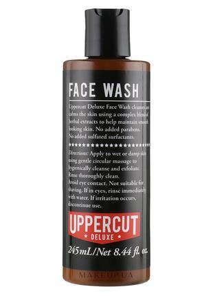 Гель для очищения лица uppercut deluxe face wash 245ml !
