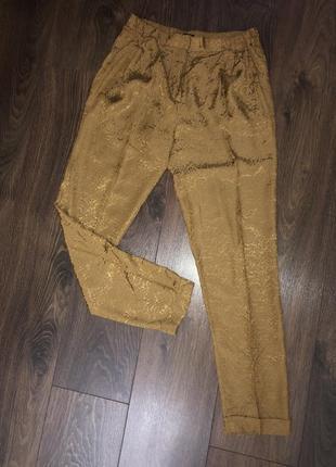 Летние штаны фактурные massimo dutti