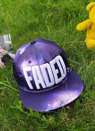 Кепка faded
