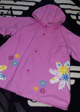 Курточка плащ куртка на дождь фирма wippette kids