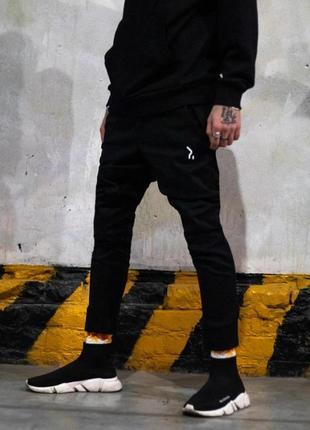 💣мужские чёрные штаны, брюки, джоггеры💣