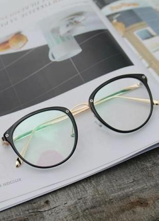 Прозрачные очки с защитой для компьютера, окуляри