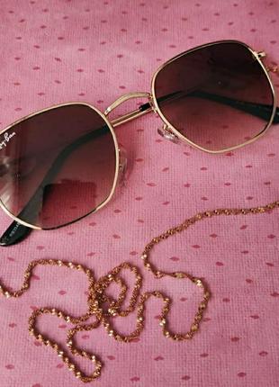 Солнцезащитные коричневые очки от солнца, сонячні сонцезахисні окуляри від сонця