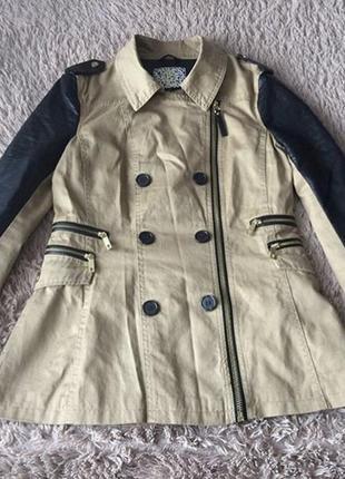 Стильная куртка-тренч