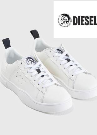 Кожаные кеды, кроссовки diesel 38 оригинал