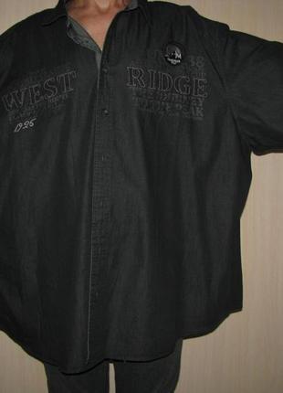 Очень большая мужская рубашка ширина 88 см 5xl canda германия