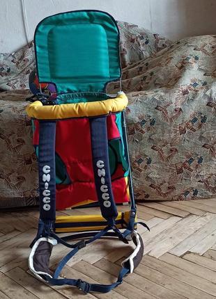 Каркасный рюкзак для ношения ребенка за спиной. эргорюкзак. кенгурин
