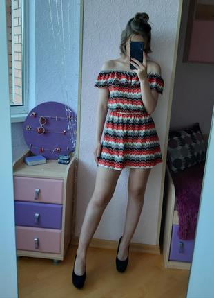 Легкое брендовое летнее платье