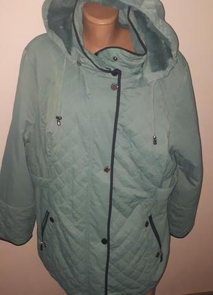 Большой размер зима на плюше куртка mona