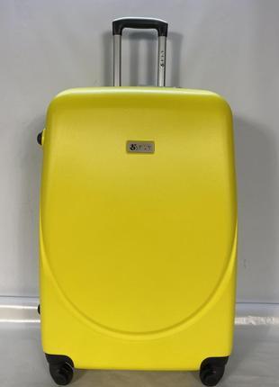 Чемодан fly 310 большой желтый