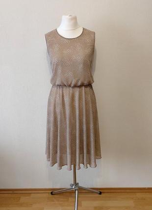 Супер цена до 05.08!!!невероятно красивое нежное шифоновое платье