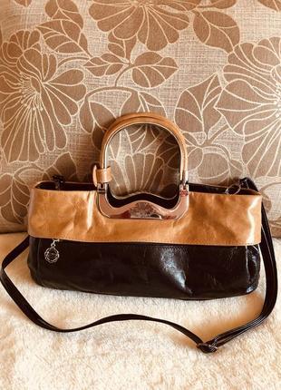 Стильная сумочка di berardino valter valentino. производство-италия. натуральная кожа
