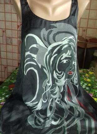 Оригинальное легкое платье/туника, от zara trf
