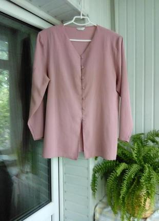 Красивая блуза рубашка пиджак большого размера батал