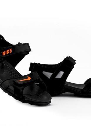 Мужские кожаные сандалии nike! кожаные сандалии