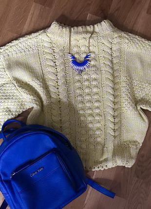 Тёплый качественный свитер h&m