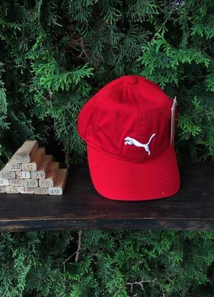 Бейсболка - в стиле puma (красная)
