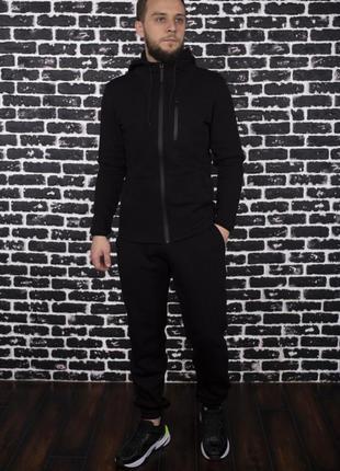 Теплый костюм intruder 'spirited hot' черный